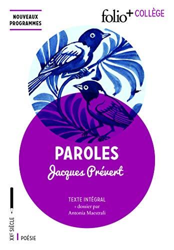 9782070794010: Paroles