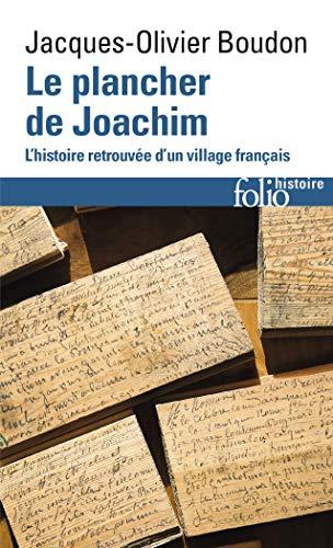 9782072798832: Le plancher de Joachim: L'histoire retrouvée d'un village français