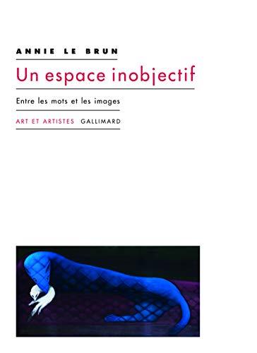 9782072843433: Un espace inobjectif: Entre les mots et les images
