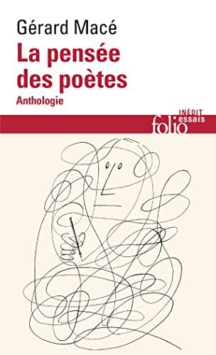 9782072917554: La pensée des poètes: Anthologie (Folio. Essais)