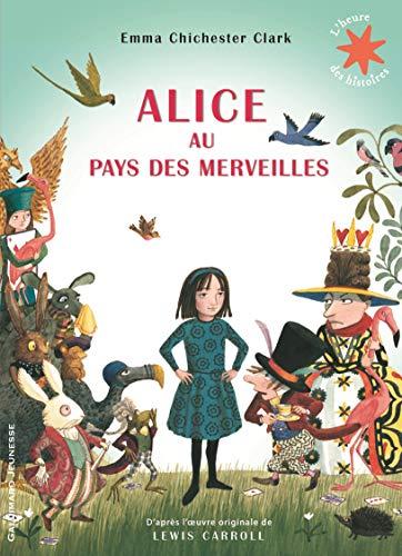 9782075077897: Alice au pays des merveilles - L'heure des histoires - De 4 à 6 ans