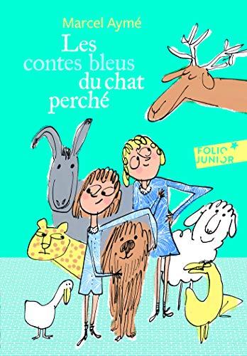 9782075085748: Les contes bleus du chat perché (Folio Junior)