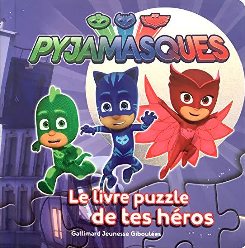 9782075090995: Les Pyjamasques : Le livre puzzle de tes héros - dès 3 ans
