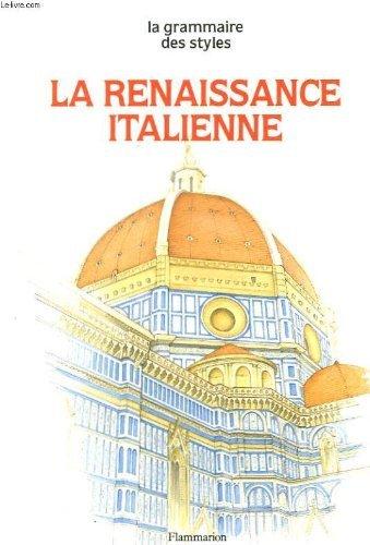 9782080103505: La Renaissance italienne