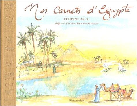 9782080108951: Mes carnets d'Egypte