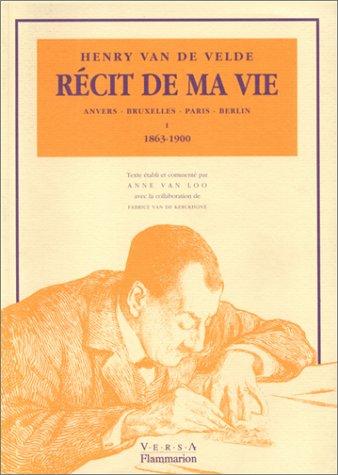 9782080109071: Récit de ma vie: Anvers, Bruxelles, Paris, Berlin (French Edition)