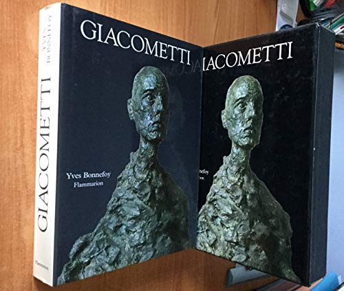 Alberto Giacometti: Biographie d'une oeuvre (French Edition): Bonnefoy, Yves