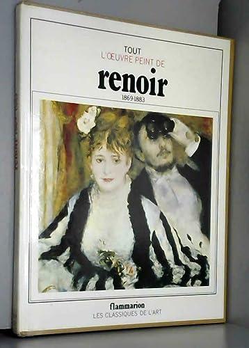 9782080112224: Tout l'oeuvre peint de renoir / periode impressionniste, 1869-1883...