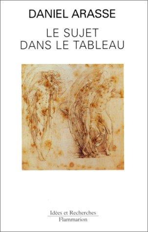 9782080126368: Le Sujet dans le tableau : Essais d'iconographie analytique