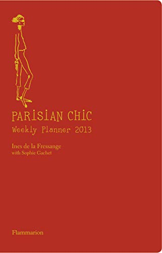 9782080201119: Parisian Chic Weekly Planner 2013