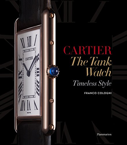 Cartier 9782080201317 This handsome monograph charts the evolution of one of the most coveted items of modern style, showcasing the extraordinary craftsmanship of the House of Cartier. The Tank Watch, designed by Louis Cartier in 1917, is an icon of modern timepiece design. One of the world's first square wristwatches, its functionality is rivaled only by its elegance; it represents a perfect combination of fine watchmaking and the jeweler's art. The Tank has been creatively reinterpreted by Cartier in many models—from the Chinese Tank to the Crash Watch to the recent Tank Anglaise—while always remaining faithful to Louis Cartier's original concept.Through designs from Cartier's rich archives, historical models, and photographs of famous clients from Clark Gable to Andy Warhol, this volume celebrates one of Cartier's greatest masterpieces.