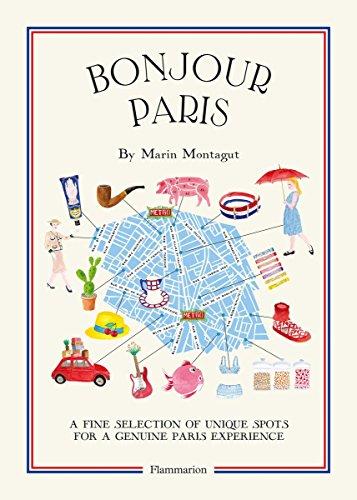 9782080202321: Bonjour Paris: The Bonjour City Map-Guides