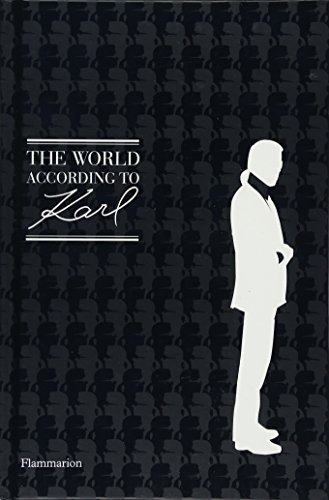 9782080202871: The World According to Karl: The Wit and Wisdom of Karl Lagerfeld