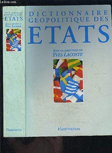 9782080351043: Dictionnaire géopolitique des États