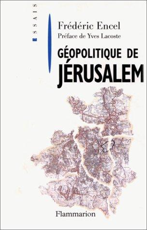 9782080355737: Géopolitique de Jérusalem