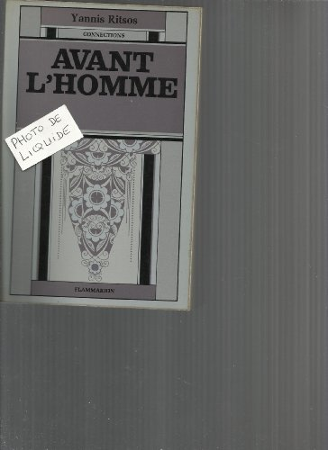 9782080607638: Avant l'homme (Connections) (French Edition)