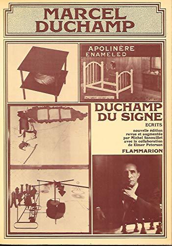 9782080607720: Duchamp du signe: Écrits (French Edition)