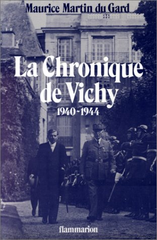 9782080608642: La Chronique de Vichy: 1940-1944 (French Edition)