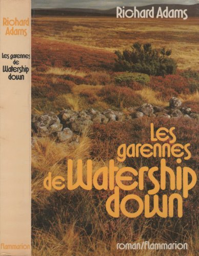 9782080608710: Les Garennes de Watership Down