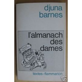 L'Almanach des Dames (Textes) (2080644548) by Djuna Barnes