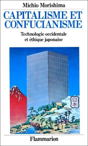 Capitalisme et confucianisme Morishima, Michio