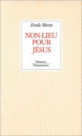 9782080660893: Non-lieu pour Jésus