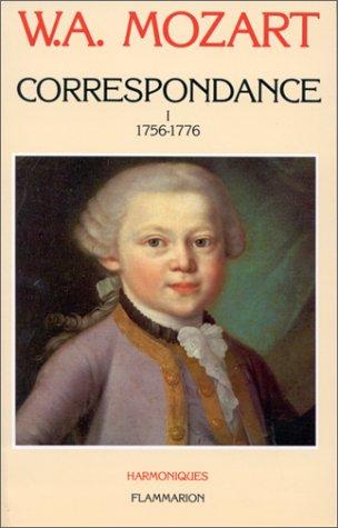 9782080665089: Correspondance: Edition de la Fondation Internationale Mozarteum Salzbourg (Harmoniques) (French Edition)