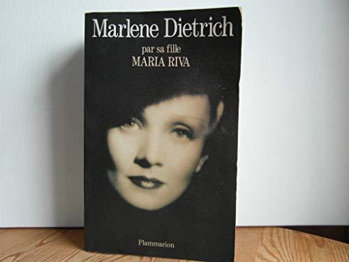 9782080668196: Marlene Dietrich : Par sa fille