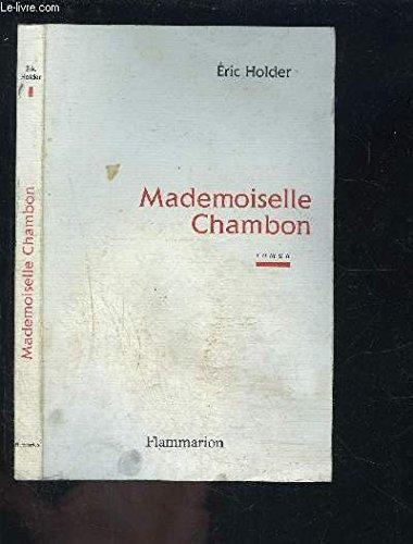 9782080673343: Mademoiselle Chambon