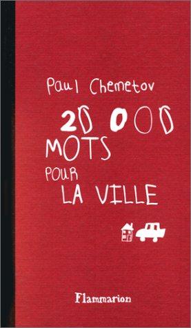 9782080673879: 20000 mots pour la ville (French Edition)