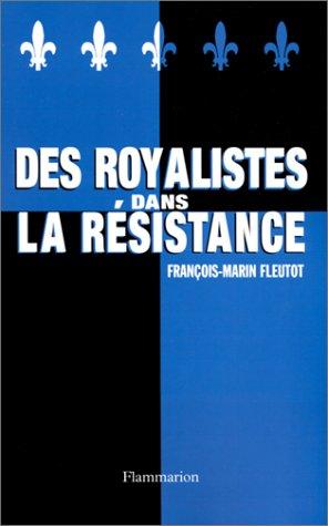 9782080678096: Des royalistes dans la Résistance