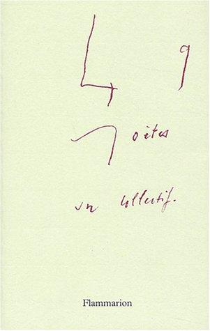 Quarante-neuf poetes (French Edition): Yves Di Manno