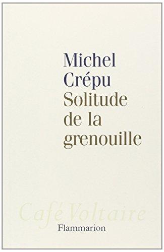 9782080690081: Solitude de la grenouille (Café Voltaire)