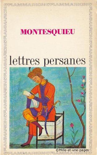 Lettres Persanes: Montesquieu