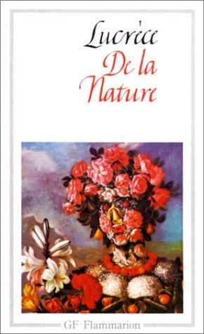 9782080700308: De la nature