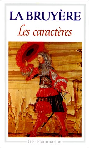 Les Caracteres (French Edition): Jean de la