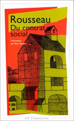 Du Contrat Social (GF PHILOSOPHIE): Jean-Jacques Rousseau
