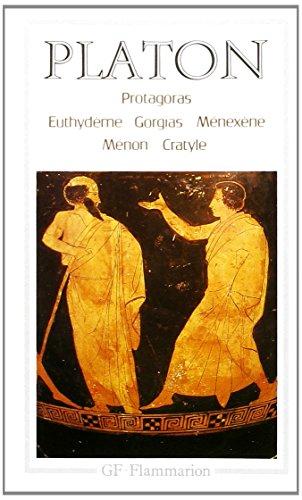 9782080701466: Protagoras euthydeme gorgias menexene menon cratyle (GF)
