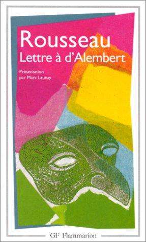 Lettres à d'Alembert (French Edition): Jean-Jacques Rousseau