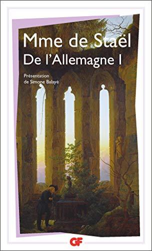 9782080701664: DE L'ALLEMAGNE. Tome 1
