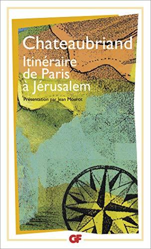 9782080701848: Itineraire De Paris a Jerusalem (French Edition)