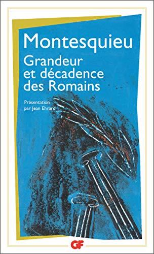 9782080701862: Grandeur Et Decadence DES Romains (French Edition)