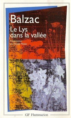 9782080702548: Le Lys Dans La Vallee (Garnier-Flammarion)