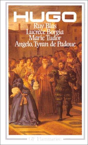 lucrce borgia drame par victor hugo french edition