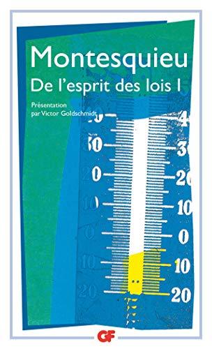 9782080703255: De Lesprit Des Lois 1 (French Edition)