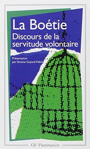 9782080703941: La Boetie Discours De La Servitude Voluntaire (French Edition)