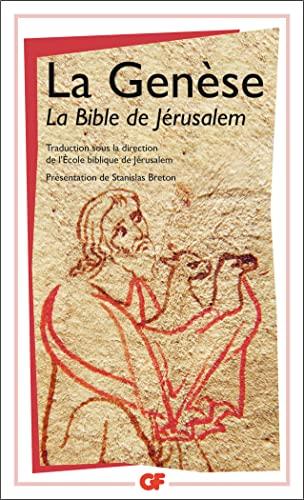 La Genèse: Bible. A. T.