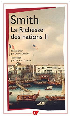 9782080706263: La Richesse des nations. Tome II