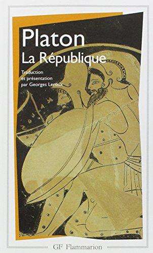 9782080706539: La republique (nouvelle édition) (GF)