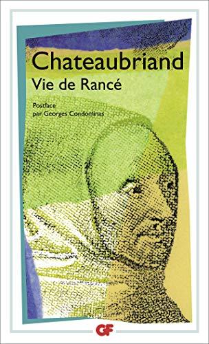 Vie de Rancé (2080706675) by Chateaubriand, François-René de; Condominas, Georges